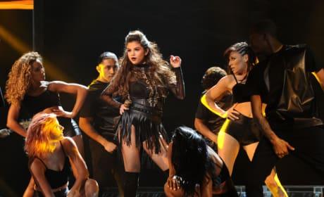 Selena Gomez on The X Factor