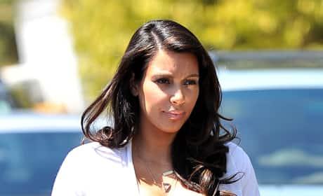 Pregnant Kim Kardashian Picture