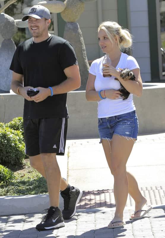 David Lucado and Britney Spears