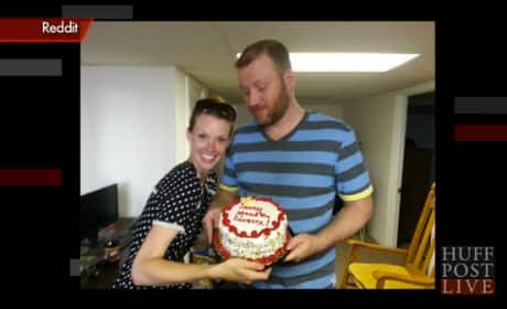 Divorce Cake Presented to Ex-Husband