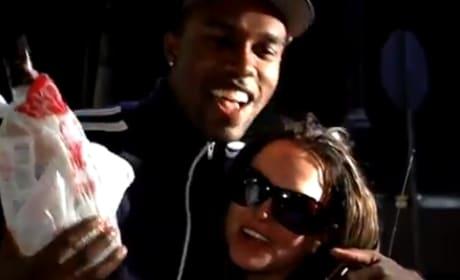 DeMario Jackson and Britney Spears, 2008