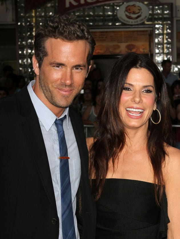 Sandra Bullock and Ryan Reynolds Picture