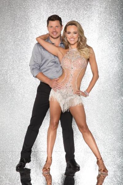 Nick Lachey and Peta Murgatroyd