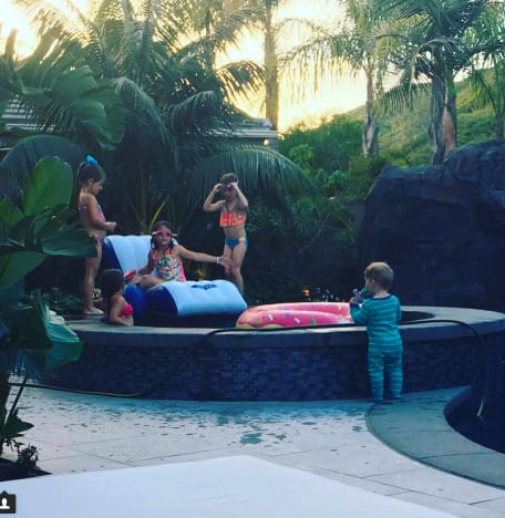 Christina El Moussa Slumber Party Pic