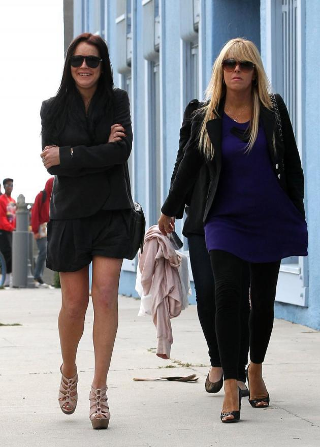 Lindsay and Dina Picture