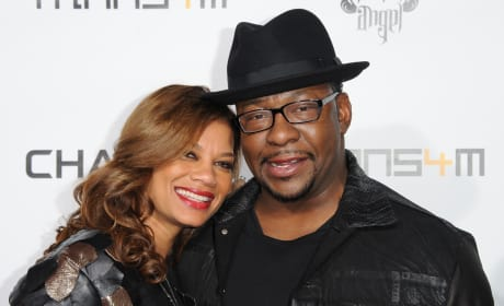 Alicia Etheredge with Bobby Brown