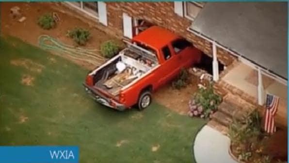 Car Drives Through House Movies