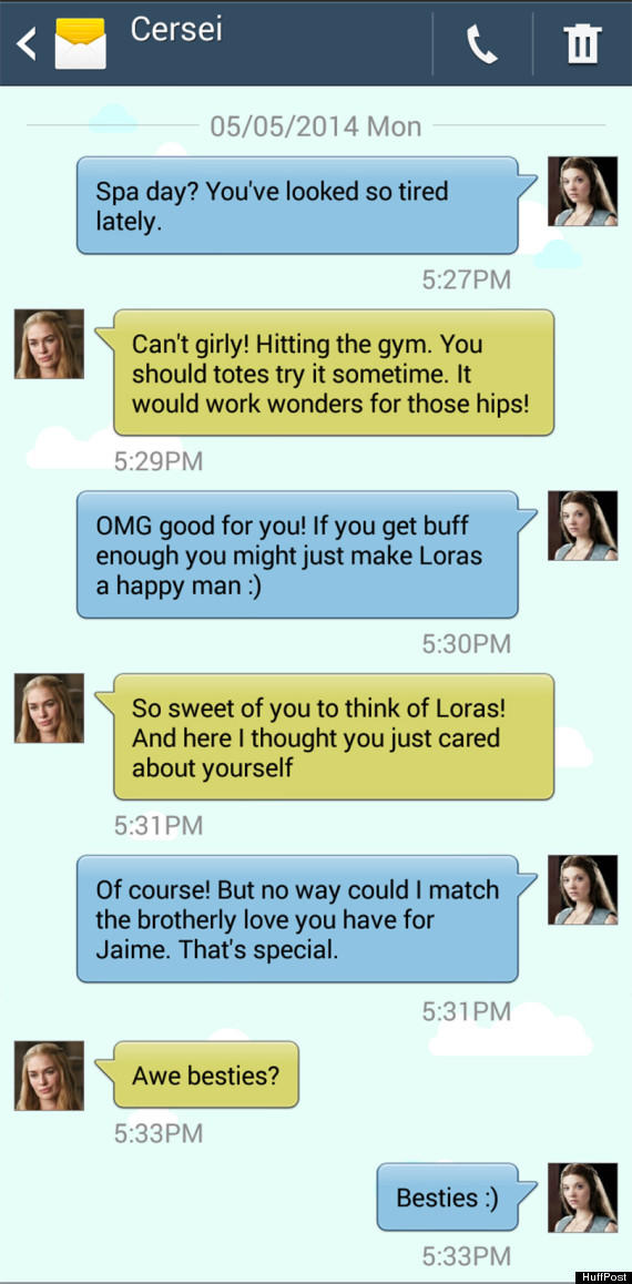 Game of Thrones Text: Cersei