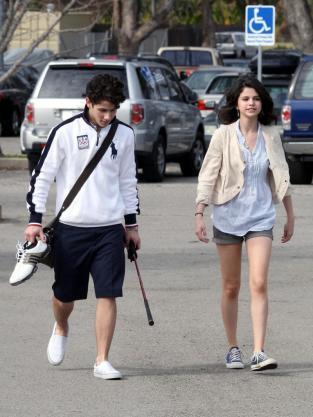 Nick Jonas and Selena Gomez