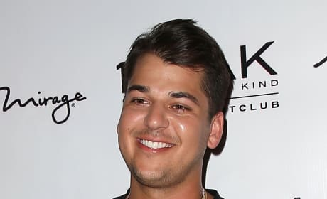 Rob Kardashian in Sin City