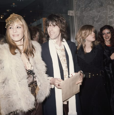 Anita Pallenberg and Keith Richards