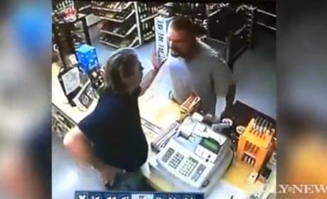 Clerk Thwarts Robber