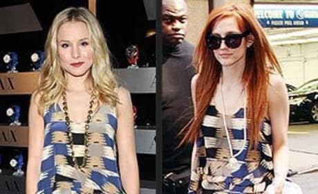 Who looked better, Kristen Bell or Ashlee Simpson?