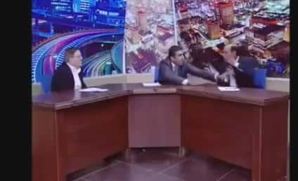 Mohammed Shawabka, Jordanian Parliament Member, Pulls Gun on Critic During TV Debate