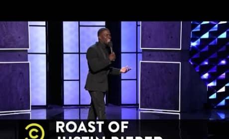 Kevin Hart Roasts Justin Bieber