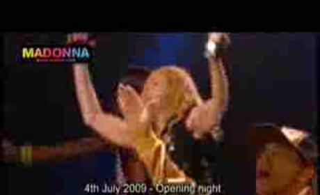Madonna Tribute to Michael Jackson