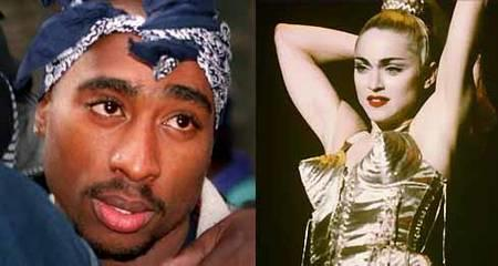 Tupac and Madonna