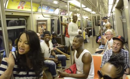 """The Lion King Cast Shocks NYC Subway Riders, Breaks Into """"Circle of Life"""""""