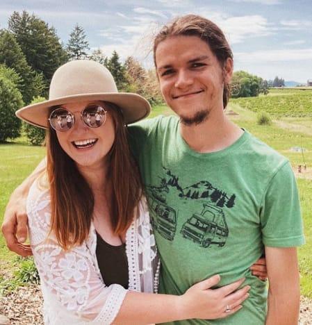 Isabel Roloff y su esposo Jacob Roloff