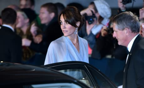 Kate Middleton: Close-Up At 'Spectre' Premiere