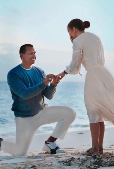 Jennifer Lopez Proposal