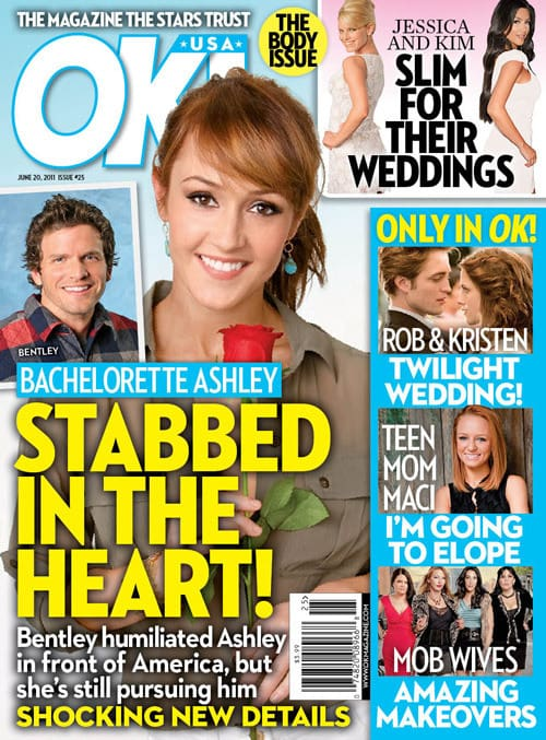 Bachelorette Stabbed in the Heart!