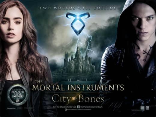 The Mortal Instruments: City of Bones Poster