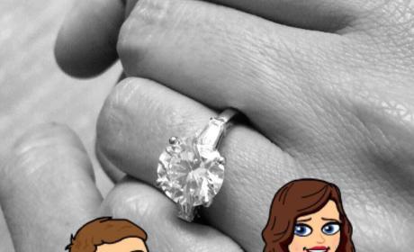 Miranda Kerr Engagement Ring
