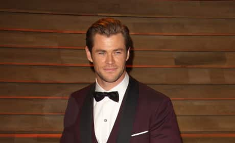 Chris Hemsworth in a Tux