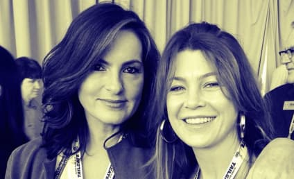 Mariska Hargitay and Ellen Pompeo Snap Super Bowl Photo, Make Taylor Swift's Life