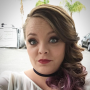 Catelynn Lowell Purple Hair