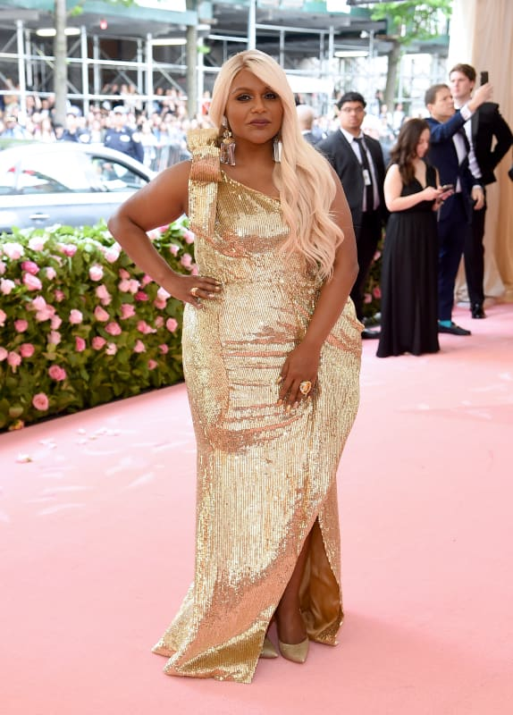 Mindy kaling at 2019 gala