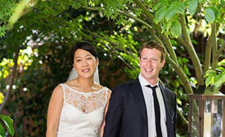 Mark Zuckerberg and Priscilla Chan Wedding Photo