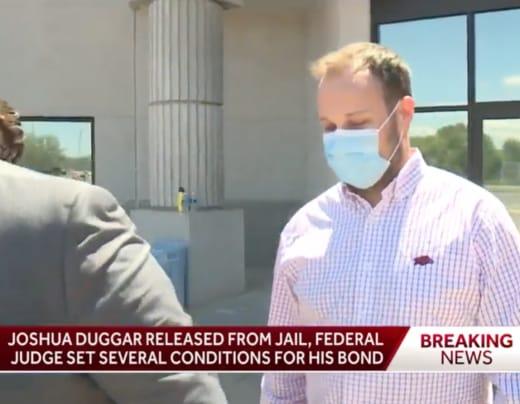 Josh Duggar Outside Court