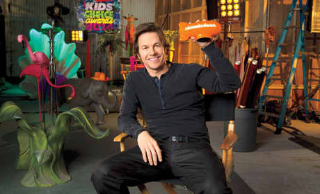 Mark Wahlberg for the Kids Choice Awards