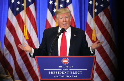 Donald Trump Presser