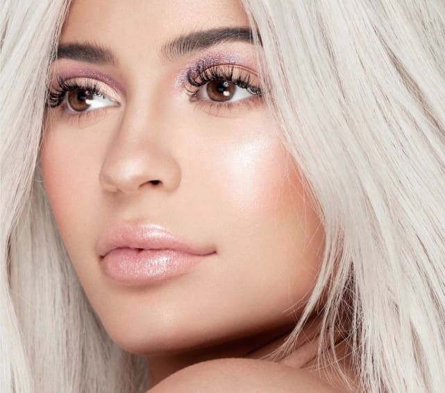 Kylie jenner closeup