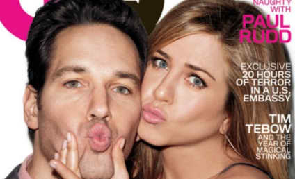 Jennifer Aniston and Paul Rudd Cover GQ