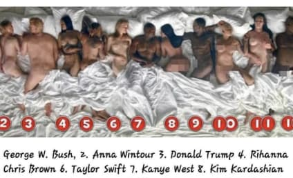 "Kanye West ""Famous"" Video: Stars, Internet React!"