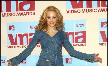 Brittany Murphy at the VMAs