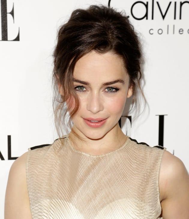 Emilia Clarke on the Red Carpet