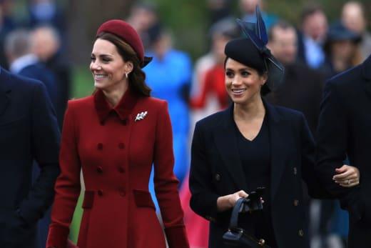 Kate Middleton et Meghan à Noël