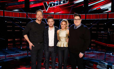 The Voice Top 4 From Season 9