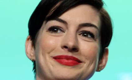 Anne Hathaway Leaves Dog Poop on Hood of Paparazzo Car