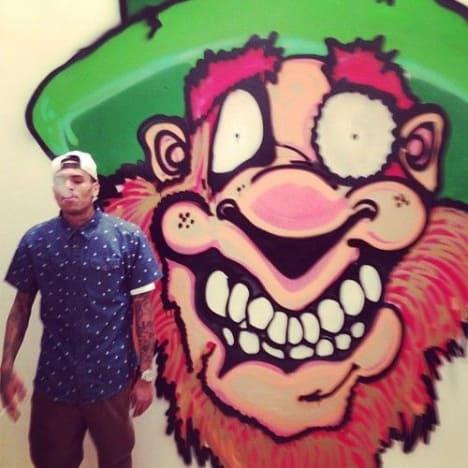 Chris Brown Painting