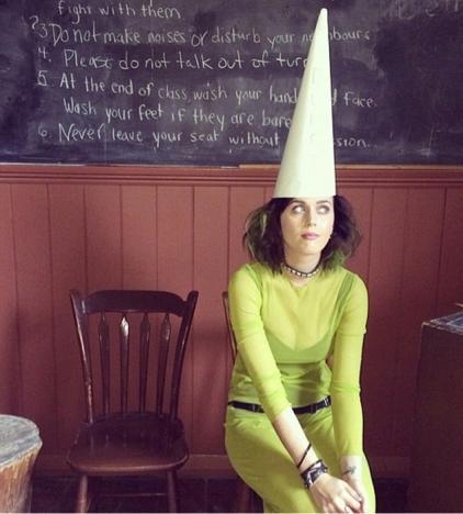 Katy Perry See-Through Dress Photo