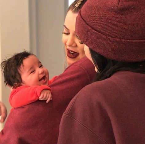 Khloe Kardashian Being an Aunt