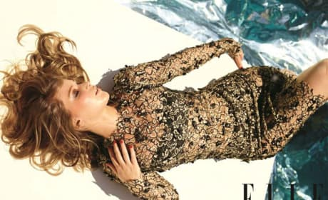 Jennifer Lawrence in Elle