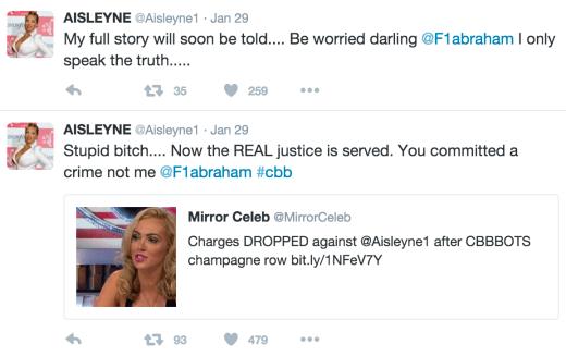 Aisleyne Horgan-Wallace Takes a Twitter Swing at Farrah Abraham