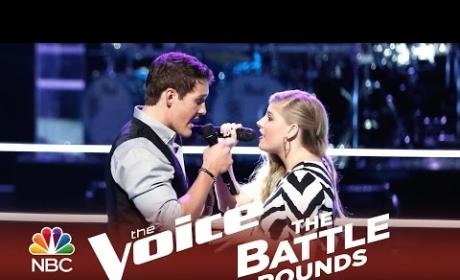 Jessie Pitts vs. Ryan Sill (The Voice Battle Round)